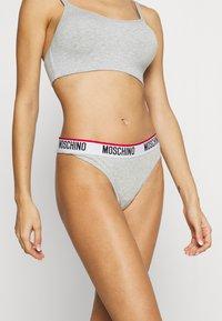 Moschino Underwear - THONG - String - grey melange - 0
