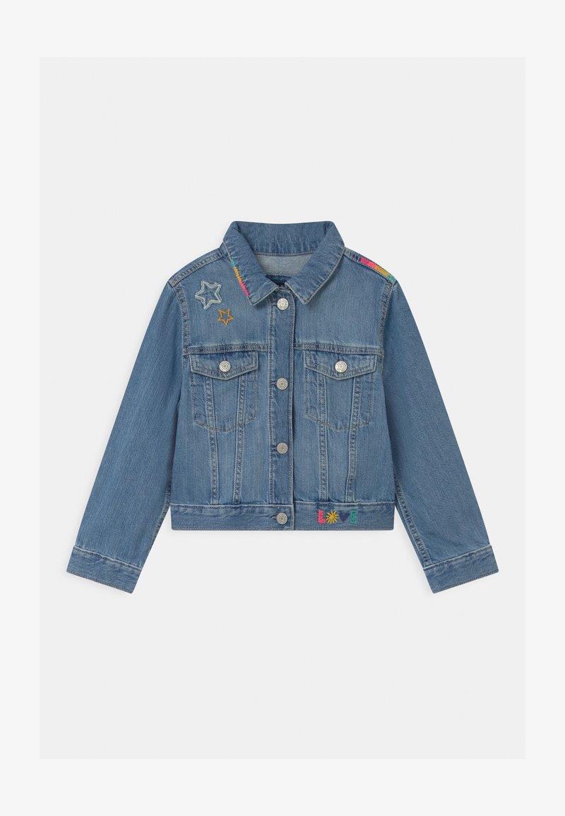 GAP - GIRLS - Džínová bunda - blue denim
