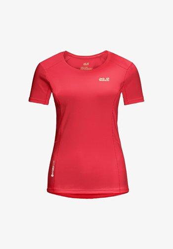NARROWS - Print T-shirt - tulip red