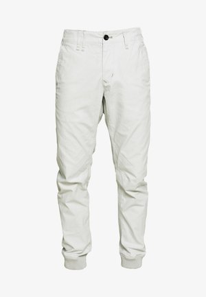 VETAR CUFFED SLIM - Trousers - cool grey
