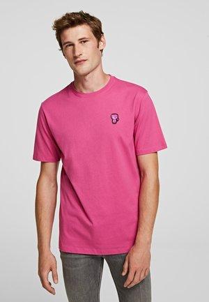 T-shirt basique - rose violet