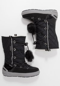 Geox - SLEIGH GIRL ABX - Lace-up boots - black - 0