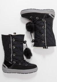 Geox - SLEIGH GIRL ABX - Šněrovací vysoké boty - black - 0