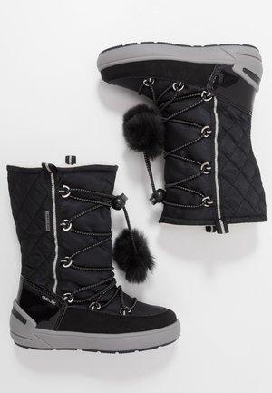 SLEIGH GIRL ABX - Šněrovací vysoké boty - black
