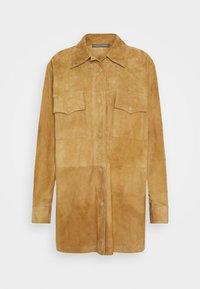 Alberta Ferretti - Button-down blouse - beige - 5