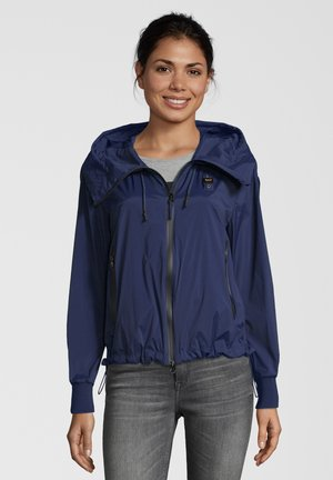 JACKE MIT KAPUZE - Light jacket - navy