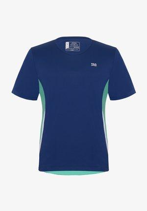 SAVO - Print T-shirt - blueberry