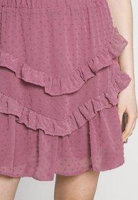 Trendyol - SIYAH - A-line skirt - lila - 4