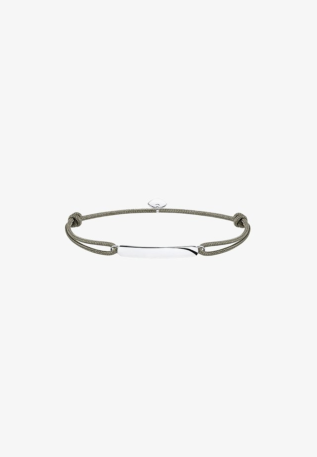 LITTLE SECRET CLASSIC  - Armband - silver-coloured| grey