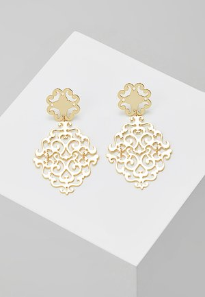 RIMII PENDANT EAR PLAIN - Ohrringe - gold-coloured