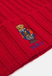 Polo Ralph Lauren - OUTDOOR BEAR HAT - Pipo - red - 4
