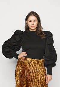 Pieces Curve - PCNYTIA  - Jumper - black - 0