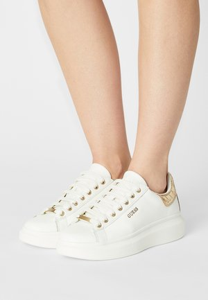 SALERNO - Sneakers laag - white/gold