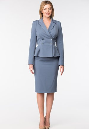 LARRI - Pencil skirt - blue