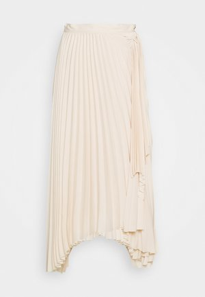 LONG MAXI TIE SKIRT - A-line skjørt - off-white