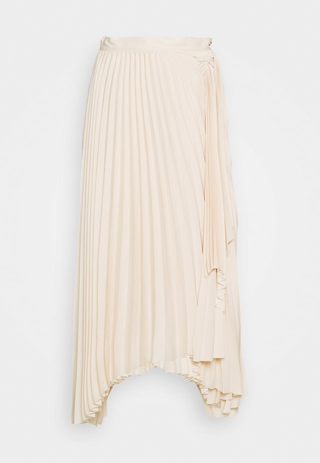 LONG MAXI TIE SKIRT - A-snit nederdel/ A-formede nederdele - off-white