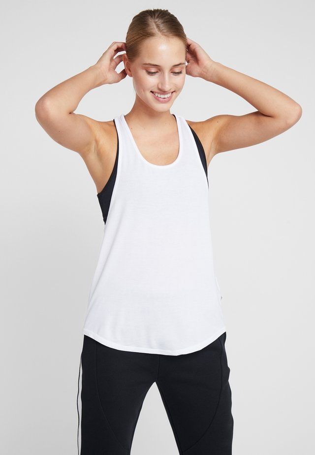 TWO IN ONE TANK - Top - white/black