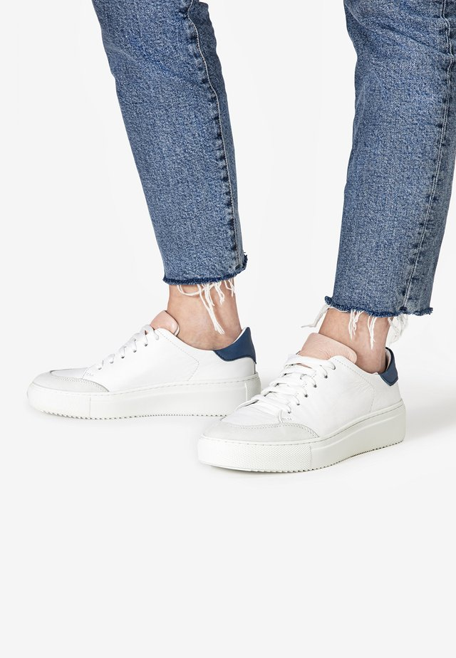 Sneakers laag - white pink wpk