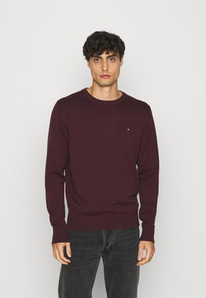 BLEND CREW NECK - Stickad tröja - bordeaux