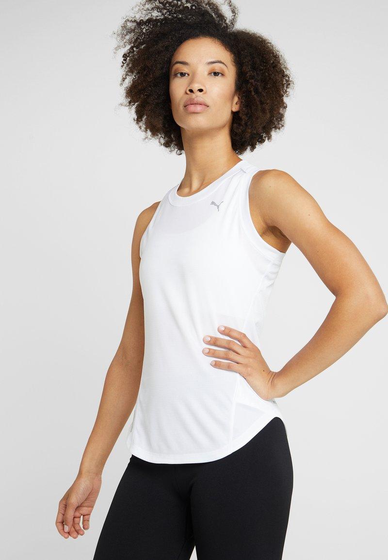 Puma - IGNITE TANK - Treningsskjorter - white