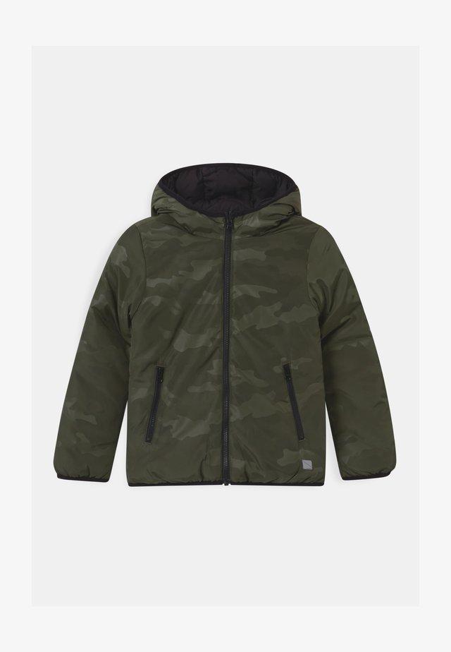 LANGARM - Zimní bunda - khaki/oliv
