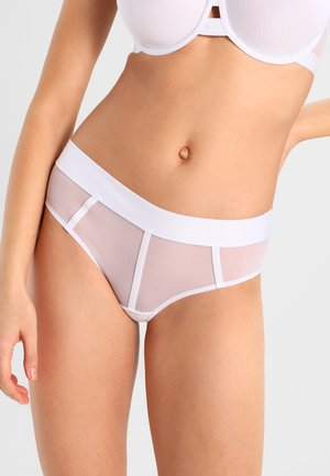 SHEERS HIPSTER - Briefs - white