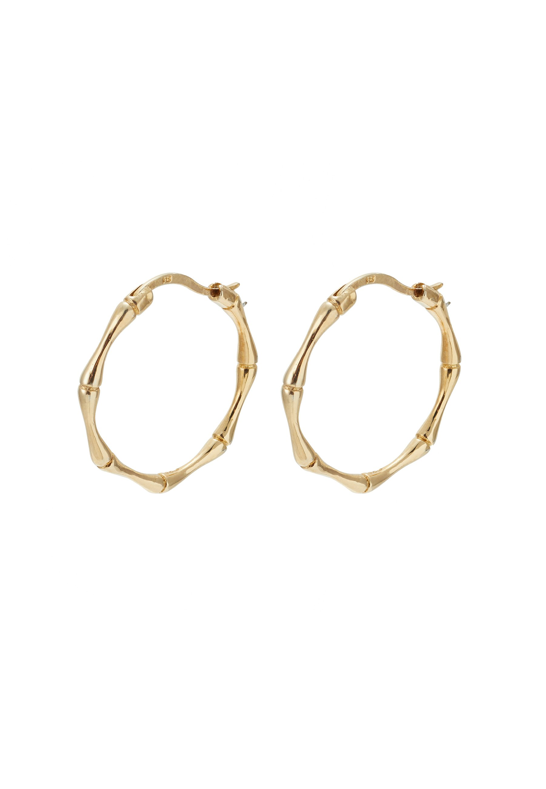 2020 Newest Clearance Accessories LIARS & LOVERS BAMBOO HOOPS Earrings gold rdLDUW8tV 8P4fee9h4
