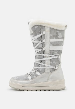 Winter boots - white/silver