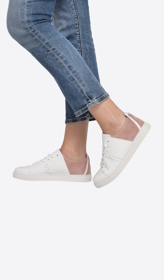 RENEE - Baskets basses - off white
