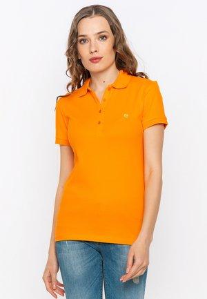 SHORT SLEEVE - Polo shirt - orange