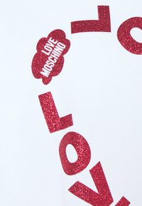 Love Moschino - Sukienka z dżerseju - optical white - 6