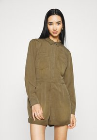 Superdry - PLAYSUIT - Overal - khaki - 0