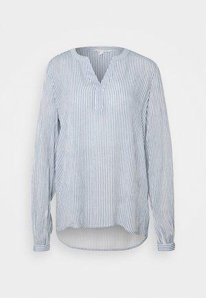 Tunika - mid blue/white