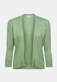Esprit - CARDIGAN - Cardigan - leaf green - 9