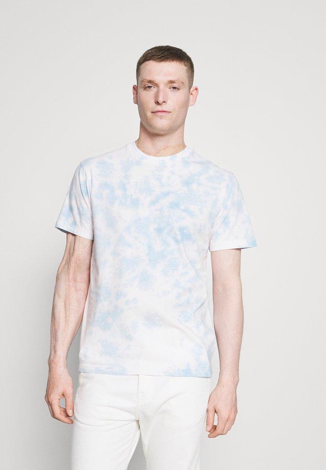 TIE DYE - T-shirt z nadrukiem - desert