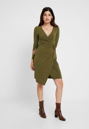 Jersey dress - olive night