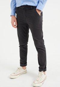 WE Fashion - Chino - dark grey - 1
