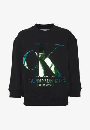 IRIDESCENT MONOGRAM - Sweatshirts - black