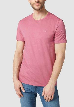 MIT BRAND-PRINT MODELL 'DOLIVE' - Basic T-shirt - bleu