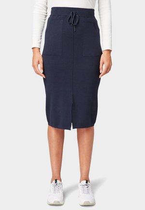 Pencil skirt - sky captain blue