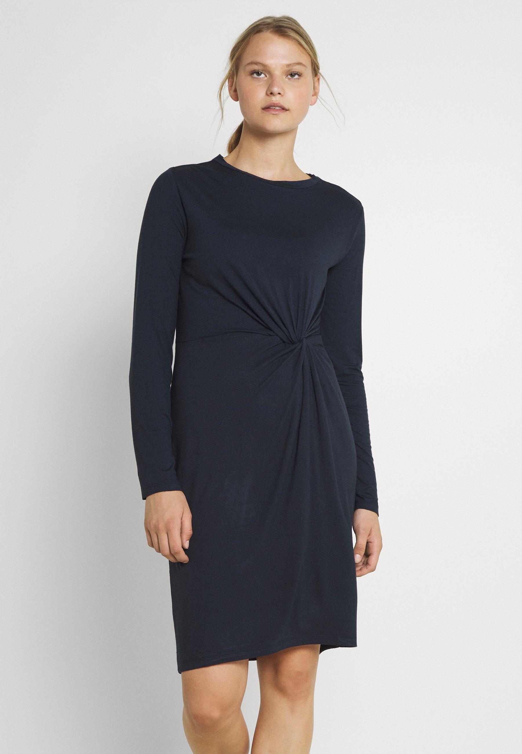 Damen PCNEORA KNOT DRESS - Jerseykleid