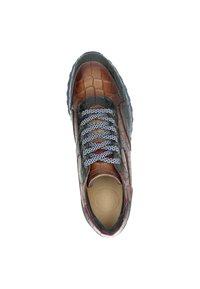 Lorenzi - Sneakers laag - cognac - 1