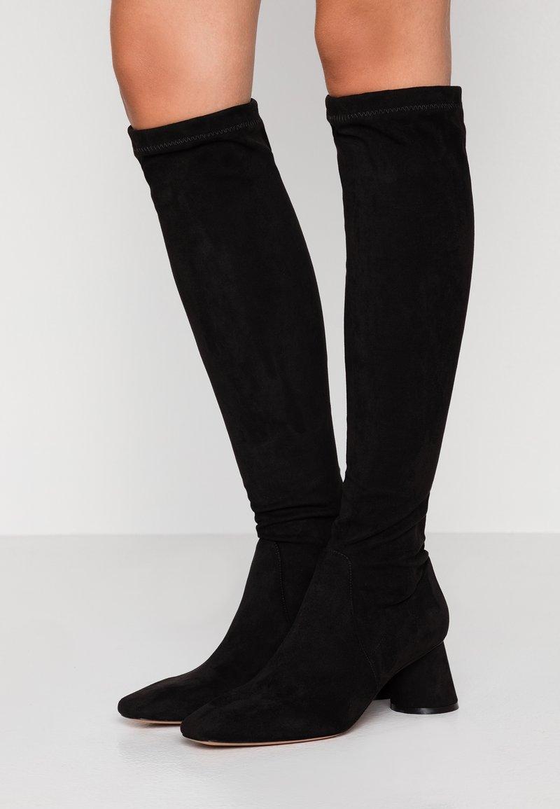 MAX&Co. - ANGELA - Høje støvler/ Støvler - black