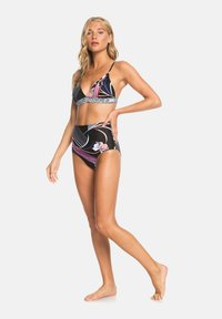 Roxy - Bikini top - true black pop flowers full - 1