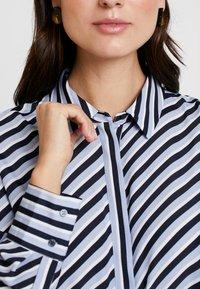 Opus - FASTINE DIAGONAL  - Button-down blouse - just blue - 4