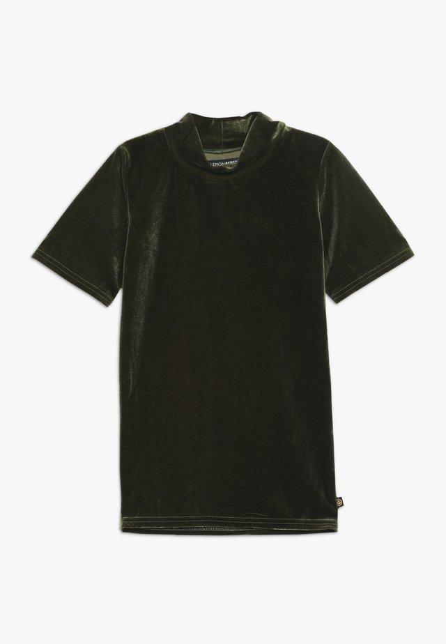 TEEN GIRLS  - T-shirt print - olive night