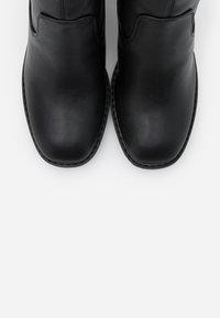 Even&Odd Wide Fit - Støvletter - black - 5