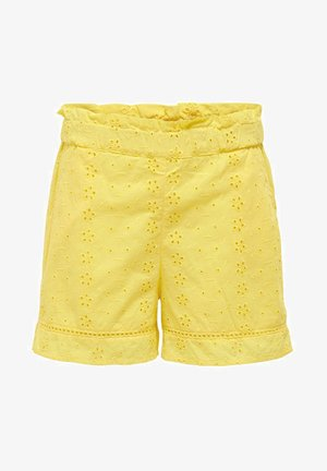 SHORTS PAPERBAG - Shorts - primrose yellow