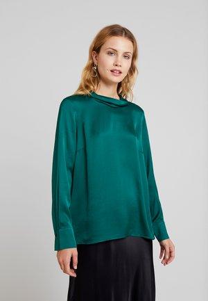 BLOUSE SLEEVE - Blouse - emerald green