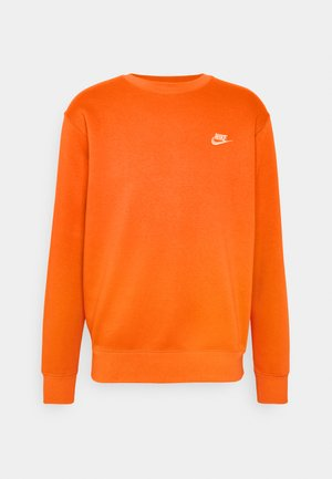 CLUB - Sweatshirt - electro orange/white